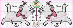 Olá meus amores, sou apaixonada pela gatinha Marie, achei esses gráficos na net nos blogs das amigas e resolvi também c...
