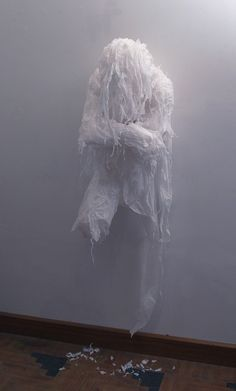 myedol: Khalil Chishtee created a series of life size figures using trash bags, un-used grocery bags and plastic sheets. Each figure is packed full of emotion, and act as a metaphor for the human instinct to continuously recycle our identities.