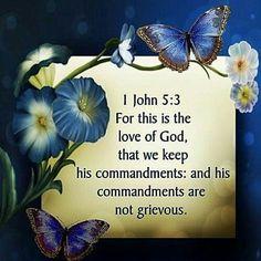 1 John 5:3 KJV