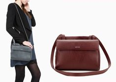 Practical, compact and oh so stylish. The BLINKIN: the small crossbody bag revised. Matt and Nat