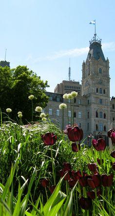 The Parliament Building / L'Hôtel du Parlement de Québec