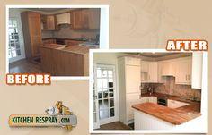 Kitchen Respray from wood to farrow and ball pointing Kitchen Respray, Kitchen Cabinets, Wood, House, Furniture, Ideas, Home Decor, Decoration Home, Woodwind Instrument