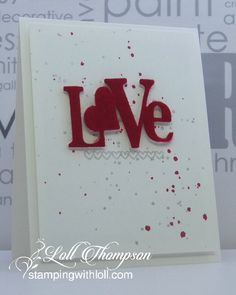 Stamping with Loll: Love and Hearts