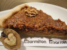 Tarte aux noix maison - Recette de cuisine Marmiton : une recette
