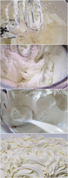 Na batedeira, bata a manteiga até ficar clara.#receita#bolo#torta#doce#sobremesa#aniversario#pudim#mousse#pave#Cheesecake#chocolate#confeitaria# Mousse, Icing, Cheesecake, Chocolate, Desserts, Butter, Dessert, Cakes, Pudding