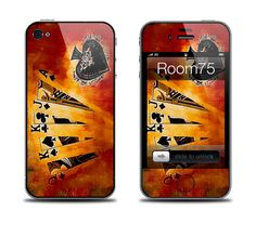 Hign Cards Iphone 4/4S/5 Galaxy S3 Poker Iphone Skins by Room75, $8.99