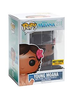 Funko Disney Moana Pop! Young Moana Vinyl Figure Hot Topic Exclusive,