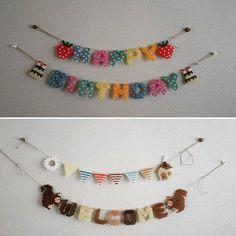 Garlands perler beads by amesami