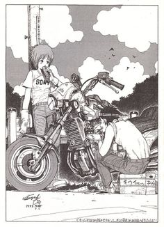 "ca-tsuka: ""Some years ago I bought a dojinshi called ""Orange"" by Tatsuyuki Tanaka (Cannabis Works). He self published it in 1983. He was 18 years old. """