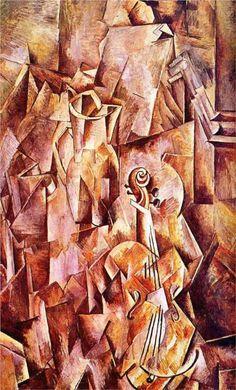 Violin and jug - Georges Braque