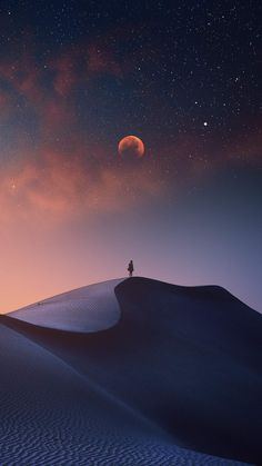 Minimalism Desert - iPhone Wallpapers