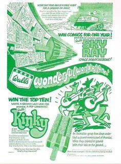 Wall's Kinky, 1971