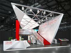 121 on Behance Exhibition Stall, Exhibition Stand Design, Environmental Design, Stage Design, Corporate Design, Pavilion, Signage, Design Inspiration, Interior Design