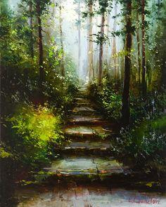 Gleb Goloubetski (Russiasn: 1975)   'Mystical Forest'