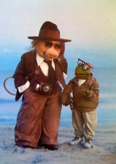 Annie Hall --one of my favorite movies-and the Muppets...can't be beat!
