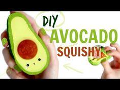 DIY Kawaii Avocado Squishy Tutorial