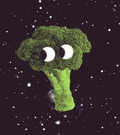 Broccoli in Space, Tim Lahan