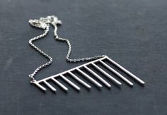 Your place to buy and sell all things handmade Necklace Chain, Necklace Lengths, Geometric Necklace, Type 4, Chain Pendants, Articles, Hair Accessories, Sterling Silver, Etsy