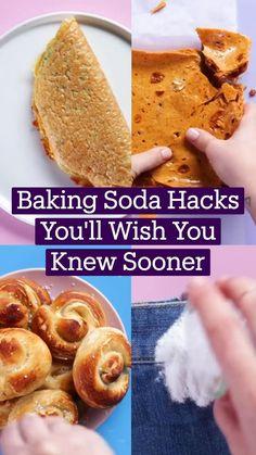 Fun Baking Recipes, Baking Tips, Dessert Recipes, Cooking Recipes, Cooking Hacks, Tastemade Recipes, Taste Made, Baking Soda Uses, Diy Food