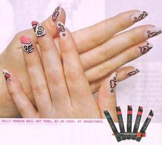 Nail Art, March 2009
