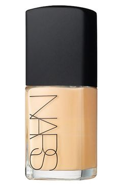 NARS Sheer Glow Foundation $44 available at #Nordstrom    It took me years to try this because of the hype, but I just got this and it blows every other foundation away! It makes my skin look PERFECT, stays on, matches 100%, and NEVER looks like makeup.