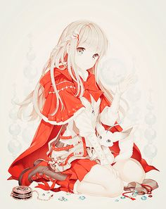 Manga Girl Petit Chaperon Rouge