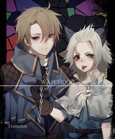 Alucard and harith. Bang Bang, Moba Legends, Mobile Legend Wallpaper, Demon Hunter, Alucard, Anime Naruto, My Best Friend, Kawaii, Hero