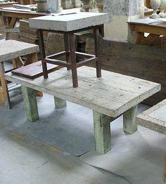 hypertufa table top
