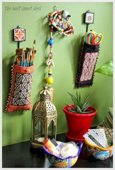 Craft Organization Small Space Diy Organizing Ideas 43 New Ideas, – Home Office Design Diy Diy Projects For Kids, Diy For Kids, Sewing Projects, Diy Arts And Crafts, Diy Crafts, Desk Organization Diy, Organizing Ideas, Office Storage, Diy Desk
