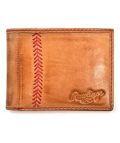 Another great find on Tan & Red Baseball Stitch Leather Bifold Wallet by Rawlings Rawlings Baseball, Tan Guys, Reds Baseball, Pocket Wallet, Slim Wallet, Leather Bifold Wallet, Stitching Leather, Vintage Watches, Cute Gifts