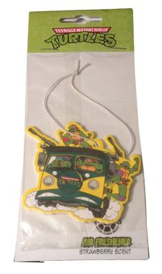Teenage mutant ninja #turtles tmnt party van  #vanilla car office air #freshener,  View more on the LINK: http://www.zeppy.io/product/gb/2/381481025730/