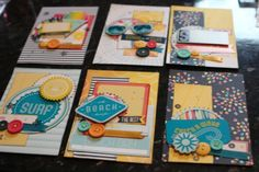Great tutorial from Shimelle Lane on the AC Blog (using AC's Shoreline 6x6 paper pad as base)