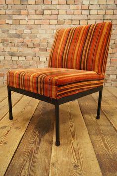 60s Retro EASY CHAIR CLUB DANISH ARMCHAIR Mid Century Modern Design Vintage  1/12