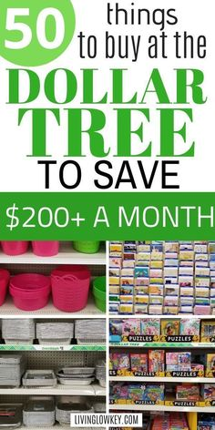 The best things to buy at the Dollar Tree! Save your money with these great deals and start buying these 50 life essentials only at the Dollar Tree. Best Money Saving Tips, Money Saving Challenge, Ways To Save Money, Saving Money, Money Tips, Money Budget, Money Savers, Frugal Living Tips, Frugal Tips