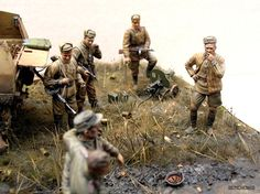 """Slavs, Take a Look! "" 1/35 scale. By Vladimir Demchenko. #diorama"