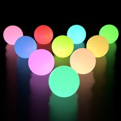 Pack of 4 Decorative LED Pool Light Set for Inground or Above Ground Swimming Pools Waterproof Color Changing Balls Sunnydaze Solar Floating Pool Lights