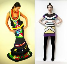 ndebele inspired dresses Nigerian Traditional Attire, Traditional Dresses, Zulu, Swagg, Fashion Prints, Peplum Dress, Beautiful People, African, Couture