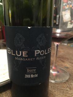 Blue Poles Merlot 2008 #TaporVine #Wine #WineMaking #Drinking #GirlsWhoDrink #Booze Vines, Drinking, Bottle, Blue, Beverage, Drink, Flask, Arbors, Grape Vines