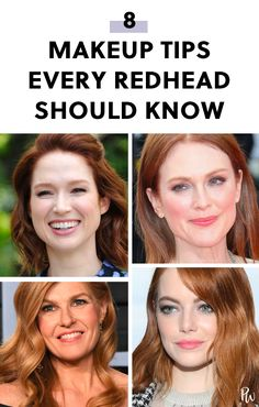 8 Makeup Tips Every Redhead Should Know purewow makeup eyebrows lips beauty face mascara eyeliner beautytips makeuptips redheads redhair makeupforredheads redheadbeautytips 216735800804976156 Best Makeup Tips, Beauty Tips For Face, Best Makeup Products, Makeup Ideas, Beauty Secrets, Face Tips, Face Beauty, Makeup Inspiration, Beauty Products