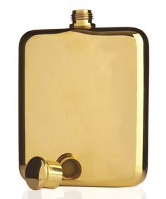 Gold-Plated 5-Oz. Flask