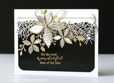 Memory Box Christmas cards...WOW this is just beautiful, looks like I need to get some more dies