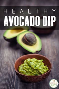 This healthy avocado dip is one recipe you've just gotta try! | Fit Bottomed Eats