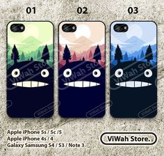 Hey, I found this really awesome Etsy listing at http://www.etsy.com/listing/169336202/totoro-iphone-5-caseiphone-5s-caseiphone
