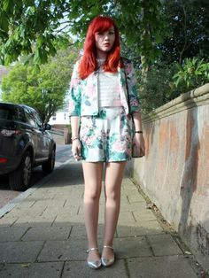 Today's #LOOKOfTheDay goes to Paige Joanna Calvert for her striking co-ord outfit. Show us your street style here: http://lookm.ag/5diibU