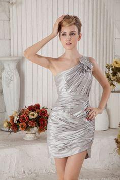 Elegant Ein-Schulter-Mantel-Spalte Abendkleid ba2057 - http://www.brautmode-abendkleid.de/elegant-ein-schulter-mantel-spalte-abendkleid-ba2057.html - Ausschnitt: Eine Schulter. Stoff: Satin. Ärmel: Ärmellos. Farbe: Silber. Silhouette: Mantel / Spalte. - 1