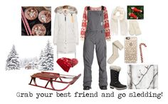 """Sledding!"" by unidoodle ❤ liked on Polyvore featuring Billabong, Helly Hansen, Vivienne Westwood, Parajumpers, Collection XIIX, Casetify and Shea's Wildflower Company"