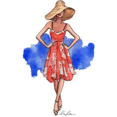 illustration by inslee haynes Illustration Sketches, Fashion Illustrations, Fashion Sketches, Fashion Drawings, Illustration Fashion, Book Illustrations, Arte Fashion, Ideias Fashion, Fashion Design