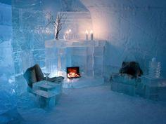 Noruega, hotel de gelo