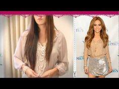 Jennifer Lopez Style - Dress Like Jennifer Lopez - Best Jlo Look Outfit & Hot Style Eryka Couture
