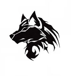 67 Ideas Tattoo Wolf Tribal Ideas For 2019 Wolf Tattoos, Wolf Tattoo Back, Tribal Wolf Tattoo, Small Wolf Tattoo, Wolf Tattoo Sleeve, Lion Tattoo, Body Art Tattoos, Tribal Tattoos, Drawing Tattoos